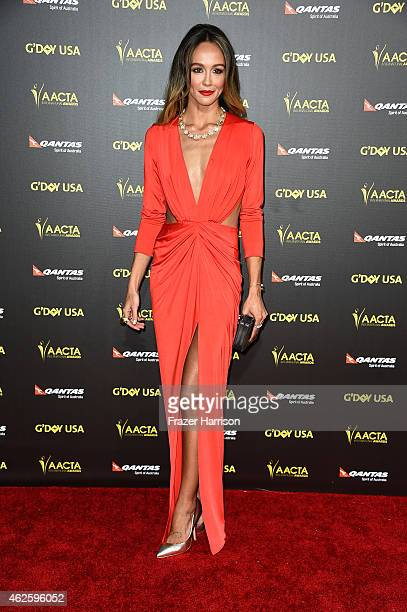 Actress Shami Vinson arrives at the 2015 G'Day USA Gala Featuring The AACTA International Awards Presented By QANTAS at the Hollywood Palladium on...