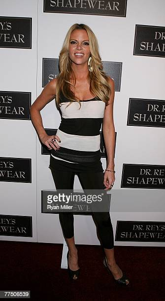 Actress Shana Wah arrives at the launch party for Dr Robert Rey's Shapewear hosted by Carmen Electra and Denise Richards held at Hollywood hot spot...