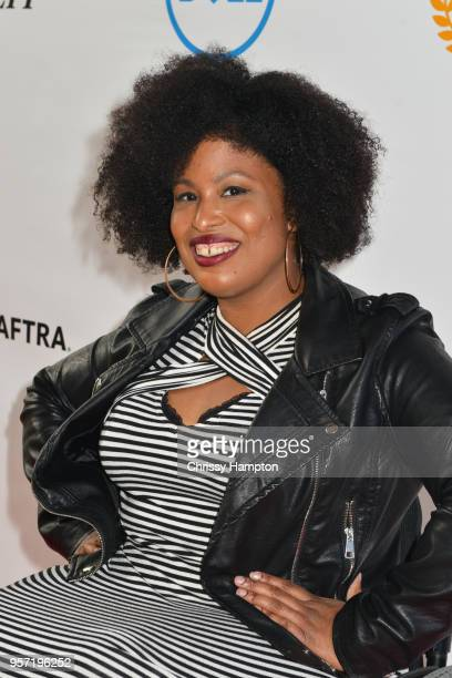 Actress Shanalyna Palmer arrives on the red carpet of United Talent Agency's 5th Annual Easterseals Disability Film Challenge Awards Ceremony at...