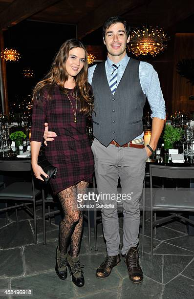 Actress Shane Lynch and Ryan Lusignan attend a private dinner hosted by VOGUE to celebrate TOD'S Creative Director Alessandra Facchinetti on November...