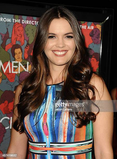 Actress Shane Lynch attend the premiere of Men Women and Children at DGA Theater on September 30 2014 in Los Angeles California