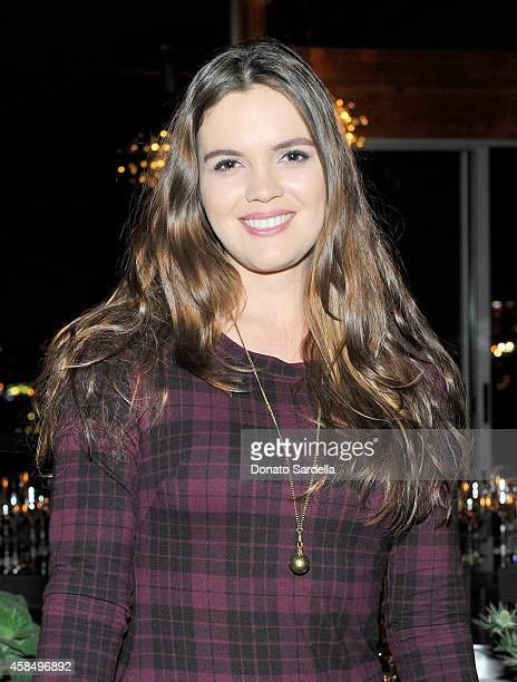 Actress Shane Lynch attends a private dinner hosted by VOGUE to celebrate TOD'S Creative Director Alessandra Facchinetti on November 5 2014 in Los...