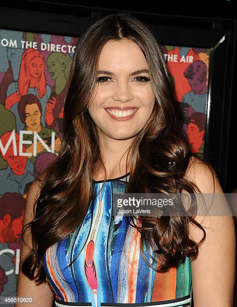 Actress Shane Lynch attends the premiere of Men Women and Children at DGA Theater on September 30 2014 in Los Angeles California