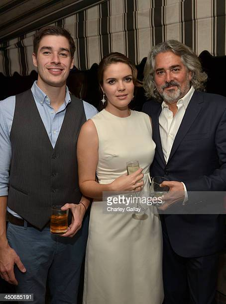 Actress Shane Lynch producer Mitch Glazer and guest attend the launch celebration of the Banana Republic L'Wren Scott Collection hosted by Banana...