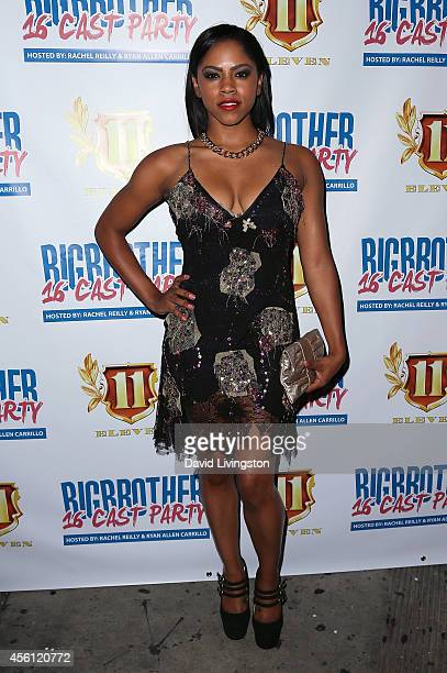 Actress Shanica Knowles attends the 'Big Brother 16' Red Carpet Finale Party at Eleven NightClub on September 25 2014 in West Hollywood California