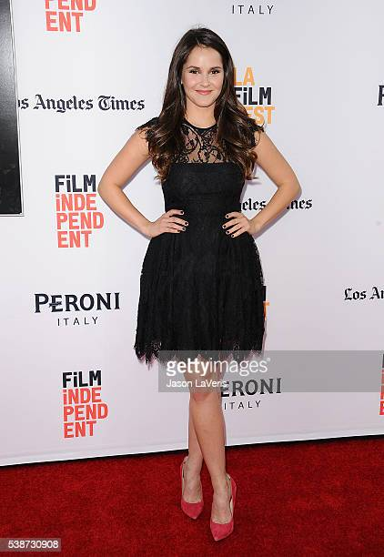 Actress Shanley Caswell attends the premiere of The Conjuring 2 at the 2016 Los Angeles Film Festival at TCL Chinese Theatre IMAX on June 7 2016 in...