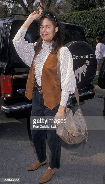 Actress Shanna Reed attends Nineth Annual McLaren's Children Center Benefit on March 10, 1990 at Henry Winkler's home in Toluca Lake, California.