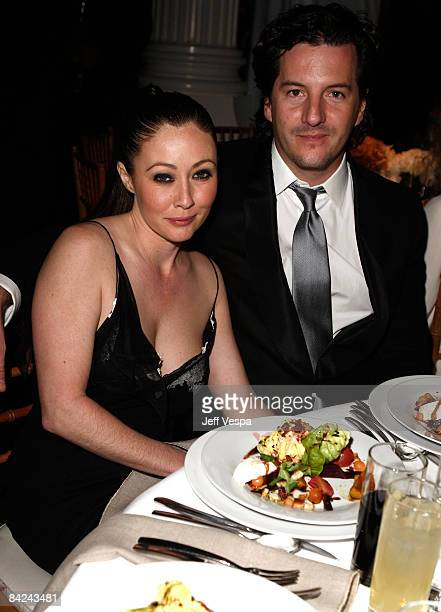 Actress Shannen Doherty and guest attend The Art of Elysium 2nd Annual Heaven Gala held at Vibiana on January 10 2009 in Los Angeles California