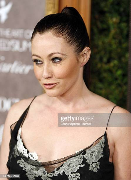 Actress Shannen Doherty arrives at the Art of Elysium 2nd Annual Heaven Gala held at Vibiana on January 10, 2009 in Los Angeles, California.