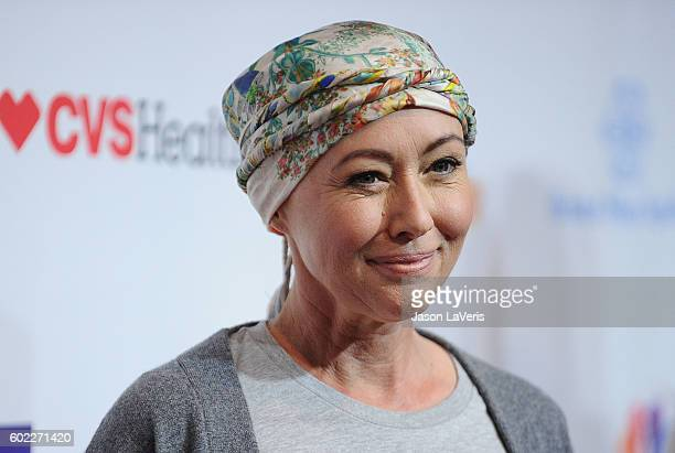Actress Shannen Doherty attends Hollywood Unites For The 5th Biennial Stand Up To Cancer , A Program Of The Entertainment Industry Foundation at Walt...