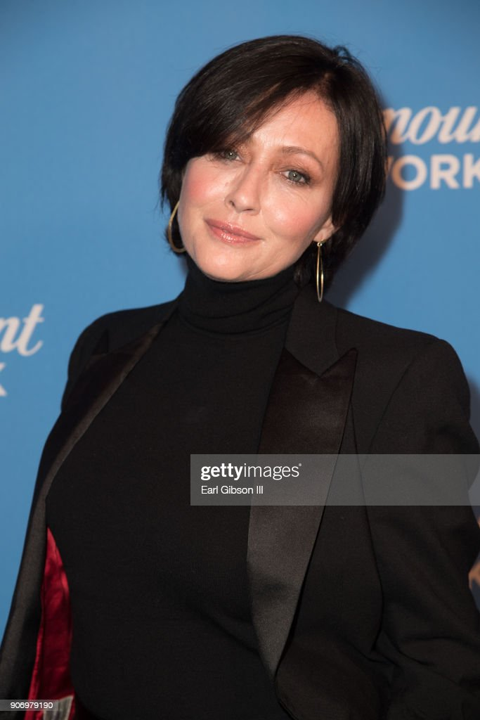 Actress Shannen Doherty attends Paramount Network Launch Party at Sunset Tower on January 18, 2018 in Los Angeles, California.