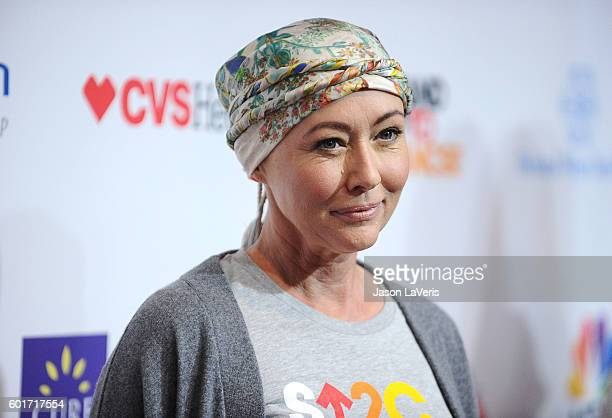 Actress Shannen Doherty attends Stand Up To Cancer 2016 at Walt Disney Concert Hall on September 9 2016 in Los Angeles California