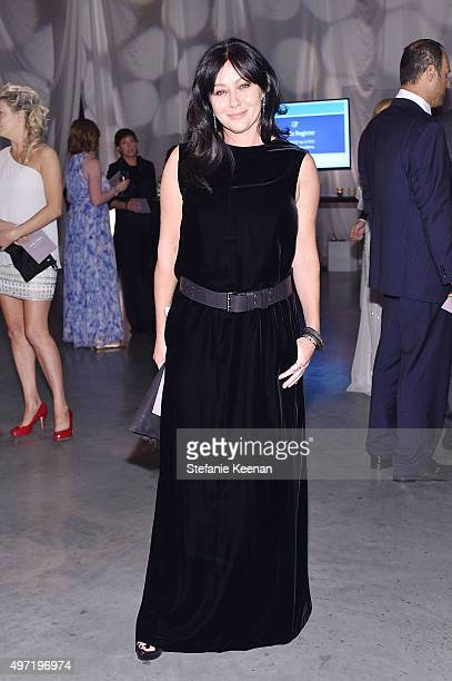 Actress Shannen Doherty attends the 2015 Baby2Baby Gala presented by MarulaOil Kayne Capital Advisors Foundation honoring Kerry Washington at 3LABS...