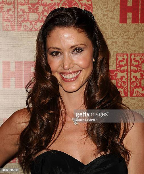 Actress Shannon Elizabeth attends HBO's Golden Globe Awards after party at Circa 55 Restaurant on January 12 2014 in Los Angeles California