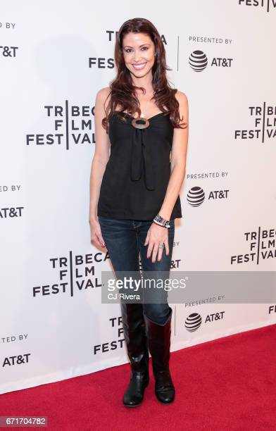 Actress Shannon Elizabeth attends the 2017 Tribeca Film Festival 'Awake: A Dream From Standing Rock' at Cinepolis Chelsea on April 22, 2017 in New...