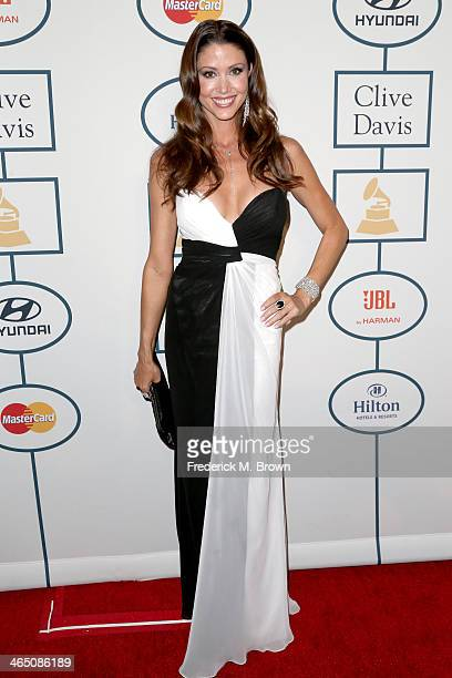 Actress Shannon Elizabeth attends the 56th annual GRAMMY Awards PreGRAMMY Gala and Salute to Industry Icons honoring Lucian Grainge at The Beverly...