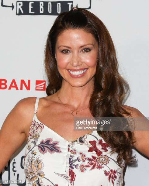Actress Shannon Elizabeth attends the Premiere of Jay Silent Bob Reboot at TCL Chinese Theatre on October 14 2019 in Hollywood California