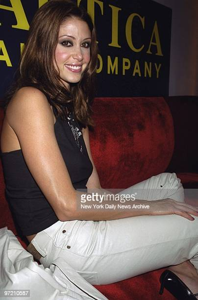 Actress Shannon Elizabeth is on hand for party to launch Nautica Jeans' fall campaign She'll head the promotion