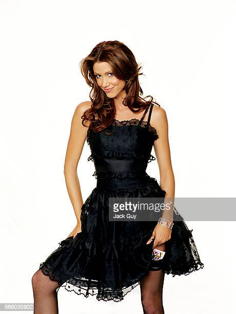 Actress Shannon Elizabeth is photographed for High Roller Magazine in 2006 in Los Angeles California