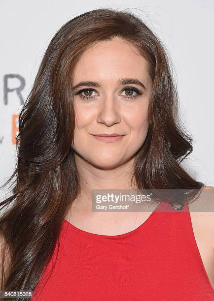 Actress Shannon Esper attend the Orange Is The New Black New York City premiere at SVA Theater on June 16 2016 in New York City