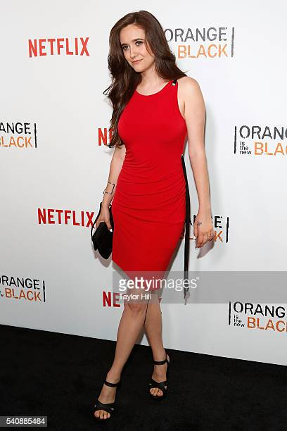 Actress Shannon Esper attends the 'Orange Is The New Black' premiere at SVA Theater on June 16 2016 in New York City
