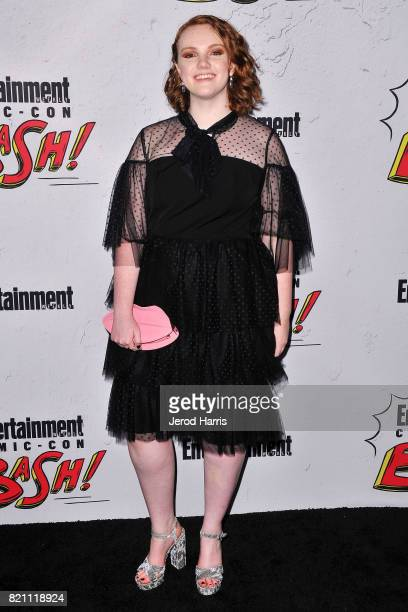Actress Shannon Purser arrives at Entertainment Weekly's Annual ComicCon Party at Float at Hard Rock Hotel San Diego on July 22 2017 in San Diego...