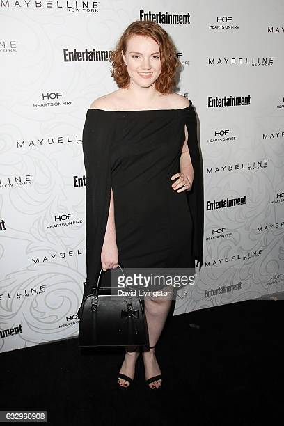 Actress Shannon Purser arrives at the Entertainment Weekly celebration honoring nominees for The Screen Actors Guild Awards at the Chateau Marmont on...