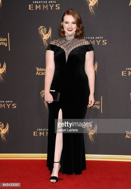 Actress Shannon Purser attends the 2017 Creative Arts Emmy Awards at Microsoft Theater on September 10 2017 in Los Angeles California