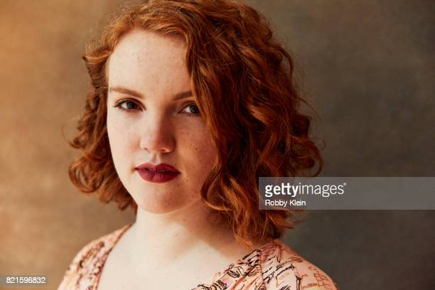 Actress Shannon Purser from Netflix's 'Stranger Things' poses for a portrait during ComicCon 2017 at Hard Rock Hotel San Diego on July 22 2017 in San...