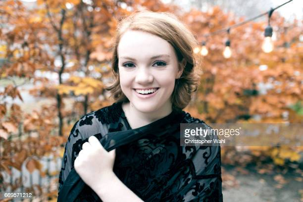 Actress Shannon Purser is photographed for The Observer Magazine on November 29 2016 in Toronto Ontario