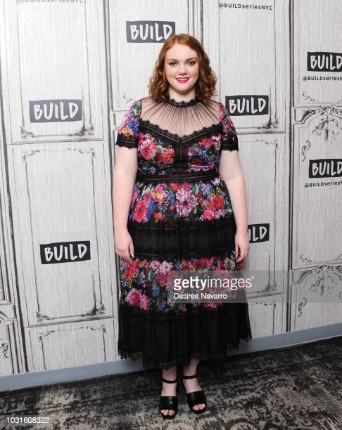 Actress Shannon Purser visits Build Series to discuss the film 'Sierra Burgess Is a Loser' at Build Studio on September 11 2018 in New York City