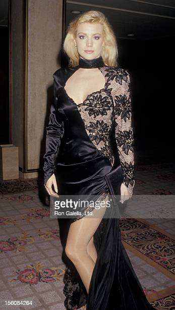 Actress Shannon Tweed attending 'Friars Club Roast of Liza Minnelli' on April 5 1987 at the Century Plaza Hotel in Century City California