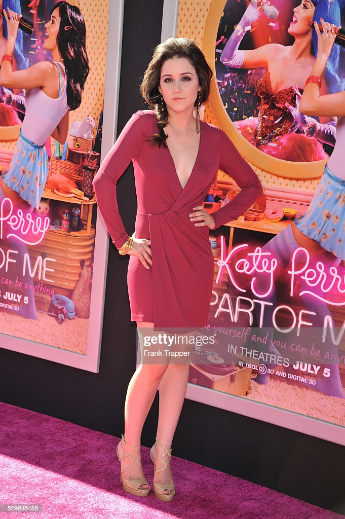 Actress Shannon Woodward Arrives At The Premiere Of Katy Perry Part