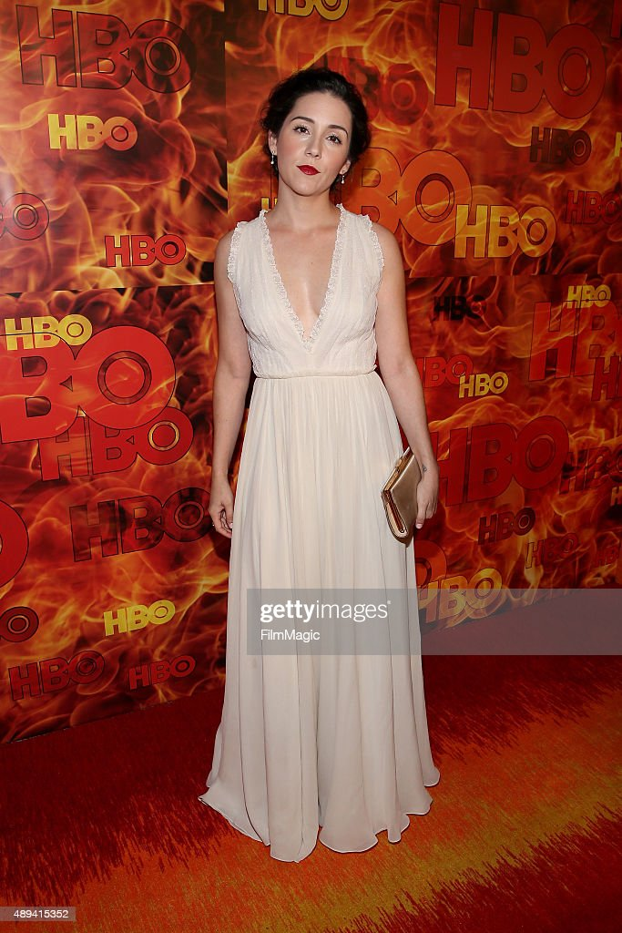 Actress Shannon Woodward attends HBO's Official 2015 Emmy After Party at The Plaza at the Pacific Design Center on September 20, 2015 in Los Angeles, California.