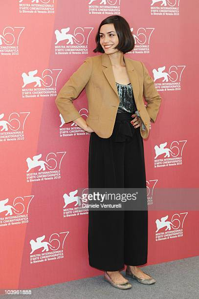 Actress Shannyn Sossamon attends the Road To Nowhere photocall at the Palazzo del Casino during the 67th Venice International Film Festival on...