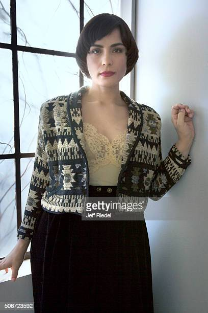 Actress Shannyn Sossamon Is Photographed For Tv Guide Magazine On January 17 2015 In Pasadena California