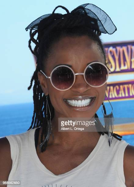 Actress Shanola Hampton arrives for Columbia Pictures And Sony Pictures Animation's World Premiere Of 'Hotel Transylvania 3 Summer Vacation' held at...