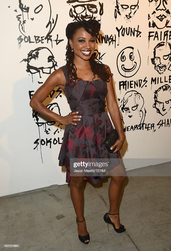 Actress Shanola Hampton attends the Art Of Elysium's 6th Annual Pieces Of Heaven powered by Ciroc Ultra Premium Vodka at the Ace Museum on February 20, 2013 in Los Angeles, California.