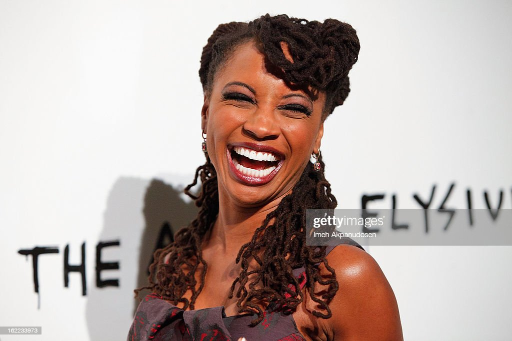 Actress Shanola Hampton attends The Art Of Elysium's 6th Annual Pieces Of Heaven Powered By Ciroc Ultra Premium Vodka at Ace Museum on February 20, 2013 in Los Angeles, California.