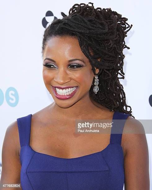 Actress Shanola Hampton attends the Black AIDS Institutes 2015 Heroes In The Struggle gala reception and awards ceremony at The Directors Guild Of...