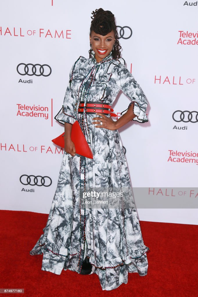 Actress Shanola Hampton attends the Television Academy's 24th Hall Of Fame Ceremony at Saban Media Center on November 15, 2017 in North Hollywood, California.