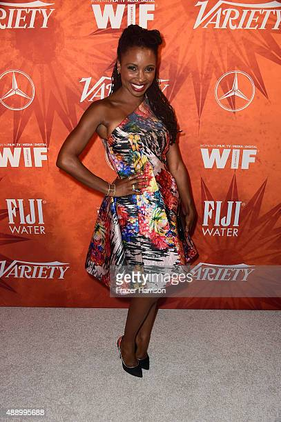 Actress Shanola Hampton attends the Variety and Women in Film Annual PreEmmy Celebration at Gracias Madre on September 18 2015 in West Hollywood...