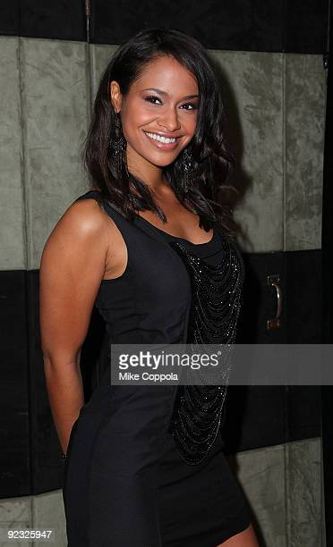 Actress Shanon Kane attends the 4th Annual Front Row Fashion Show at the Roseland Ballroom on October 24 2009 in New York City