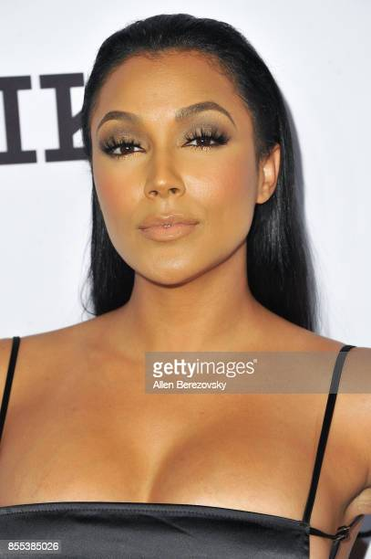 Actress Shantel Jackson attends Men's Fitness 2017 annual Game Changers event at Private Residence on September 28 2017 in Beverly Hills California