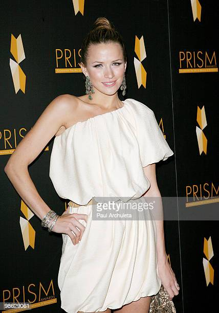 Actress Shantel VanSanten arrives at the 2010 PRISM Awards at Beverly Hills Hotel on April 22, 2010 in Beverly Hills, California.