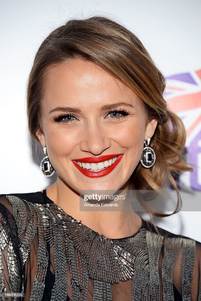 Actress Shantel VanSanten arrives at the 'Downton Abbey' Britweek celebration at the Fairmont Miramar Hotel on May 3, 2013 in Santa Monica, California.