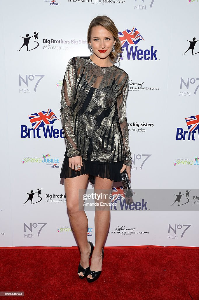 Actress Shantel VanSanten arrives at the 'Downton Abbey' Britweek celebration at the Fairmont Miramar Hotel on May 3, 2013 in Santa Monica, California.