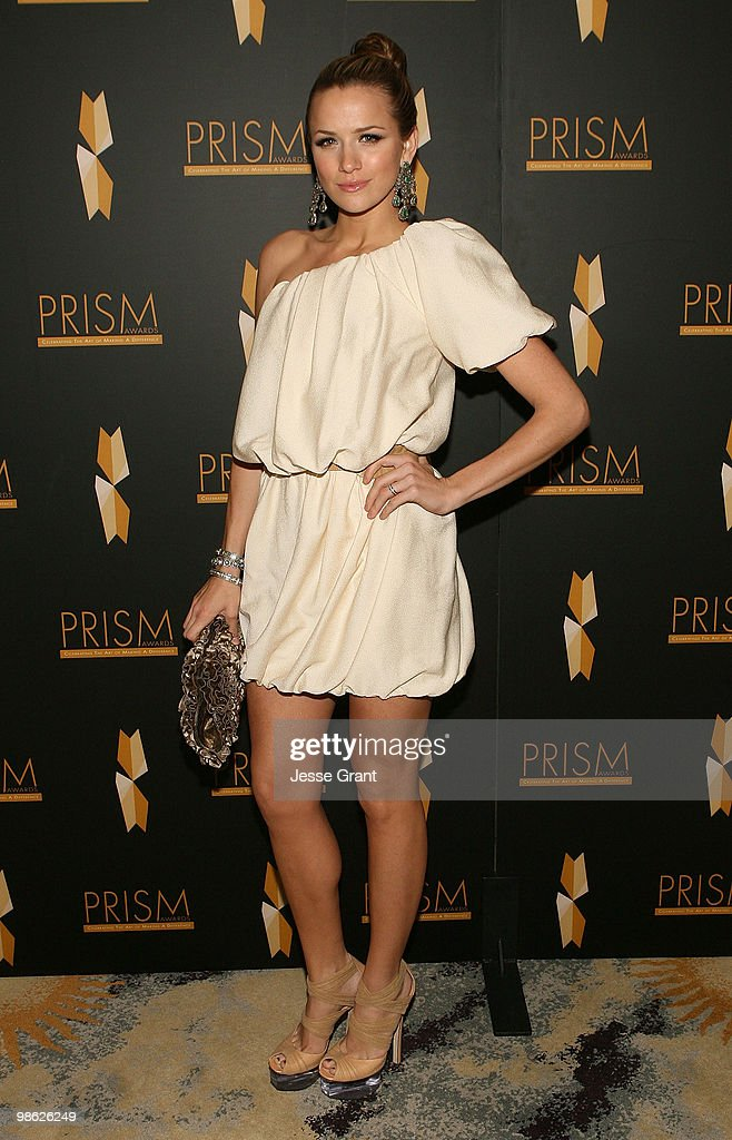 Actress Shantel VanSanten arrives to the 14th Annual Prism Awards at the Beverly Hills Hotel on April 22, 2010 in Beverly Hills, California.