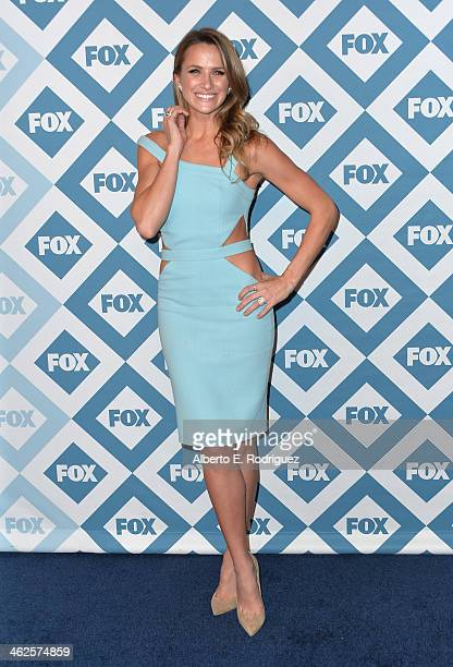 Actress Shantel VanSanten arrives to the 2014 Fox AllStar Party at the Langham Hotel on January 13 2014 in Pasadena California