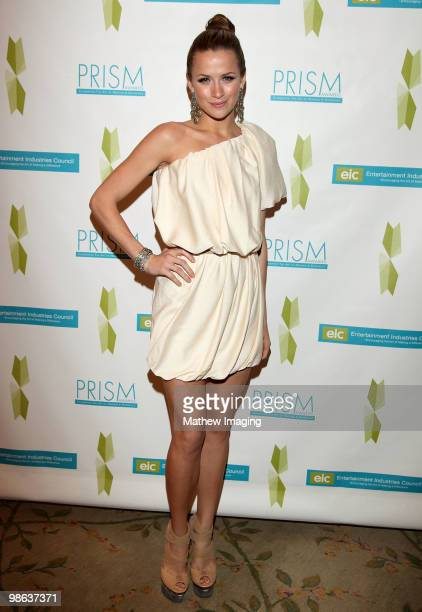 Actress Shantel VanSanten attends the 14th Annual PRISM Awards at the Beverly Hills Hotel on April 22 2010 in Beverly Hills California